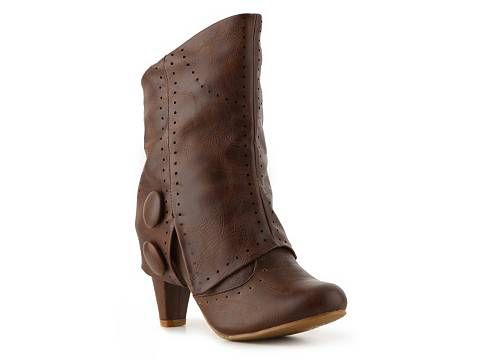 Not Rated News Flash Bootie Boots Women's Shoes - DSW