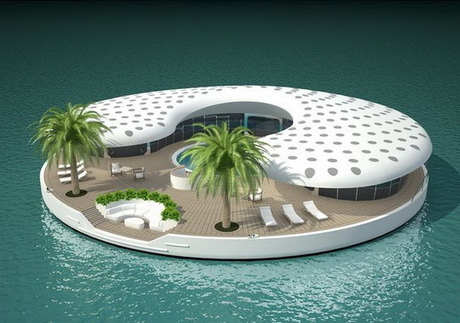 Floating homes of the future                                                                                                                                                                                 More