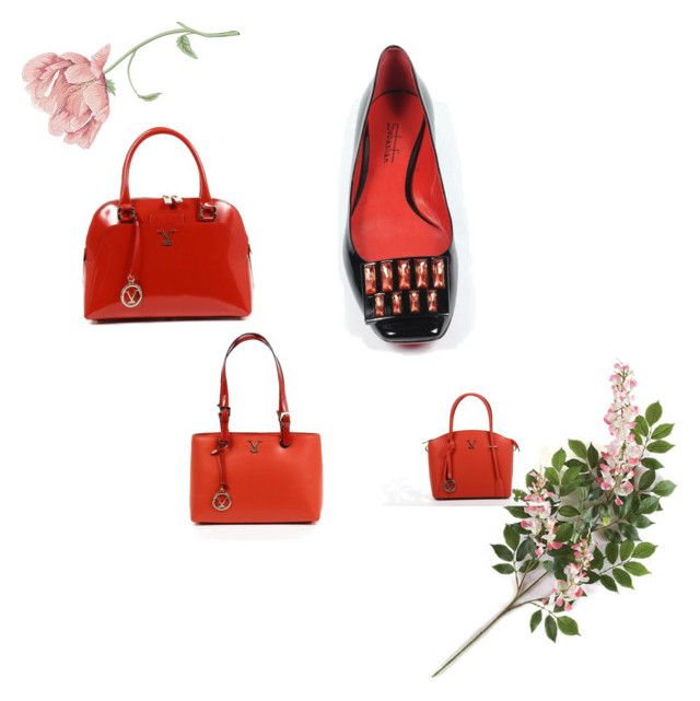 """""""Versace Red Handbags Collection"""" by dare2buyonline on Polyvore"""