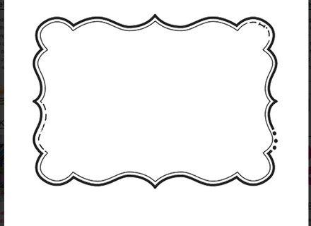 fancy shapes fancy shapes templates printables. Black Bedroom Furniture Sets. Home Design Ideas