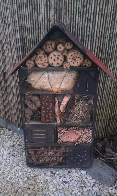 A place for all the little things, insect friendly space. This looks amazing. Maybe one day I can make one of these!