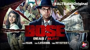 Bose: Dead or Alive 2017 | Songs #Bose_Dead_or_Alive Story of a freedom fighter (Subhash Chandra Bose) who was a leading struggler for India's freedom against the Britishers. Gave false news to the Britishers for his death to trick them. Stars:Rajkummar Rao, Naveen Kasturia, Edward Sonnenblick