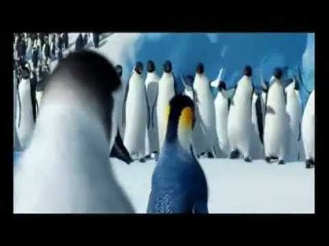 Happy Feet 2 -  Penguins Riverdance -  Lord of the Dance. Repinning this because its cute.