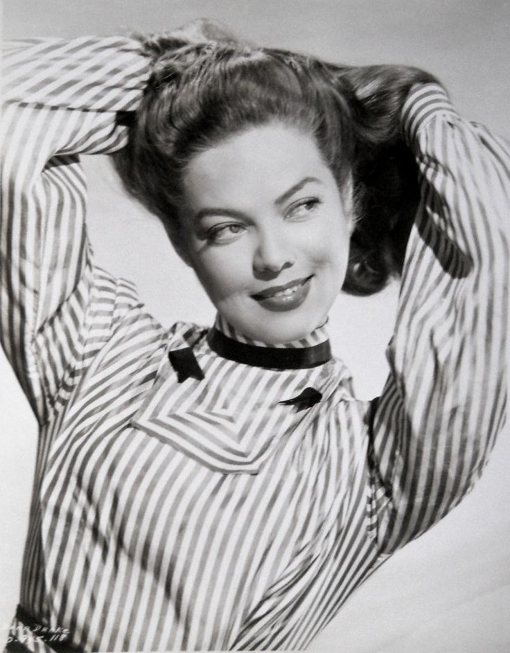 Dona Drake photographed for The Doolins Of Oklahoma (1949)