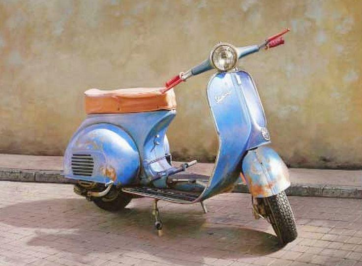 pintura de cuadros de motos - Buscar con Google
