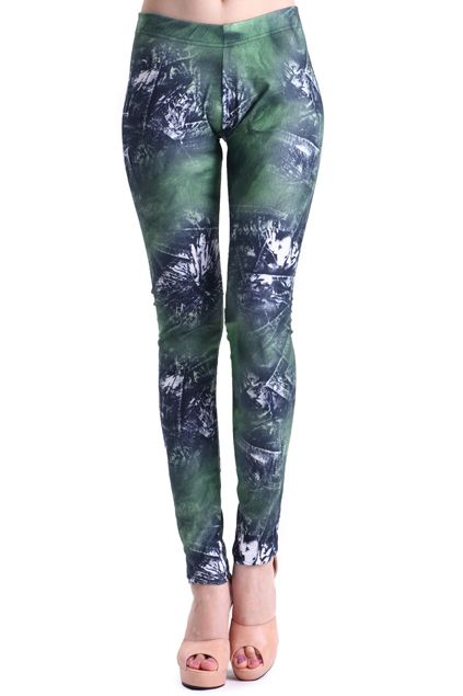 ROMWE | Graffiti Pattern Leggings, The Latest Street Fashion #Romwe