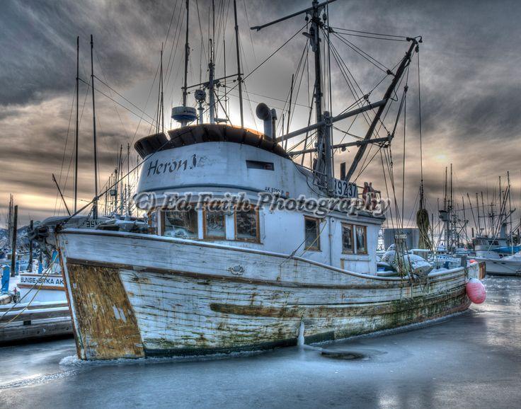 Old Fishing Boat in Sitka Harbor - Sitka, Alaska