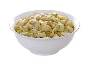 No-Mayonnaise Potato Salad, I made this today for our Labor day BBQ and it is amazing!