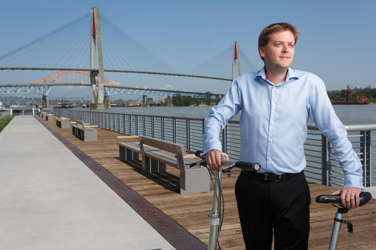 SFU alumni and New Westminster city councilor JonathanCote strives to make his community more environmentally and socially sustainable.