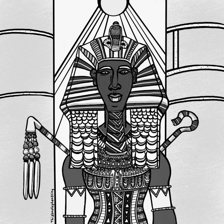 Akhenaten (aka Akhenaton, Ikhnaton, Khuenaten- Pharoah of Egypt during the 18th Dynasty. First known ruler in recorded history to institute a montheistic state religion and monotheism itself. Reigned during what is known as the Armana period. Husband to Nefertiti and father to King Tut. #king #pharaoh #akhenaton #akhenaten #armana #blackhistory #blackart #sketch #digitalart #royalty #blackhistorymonth