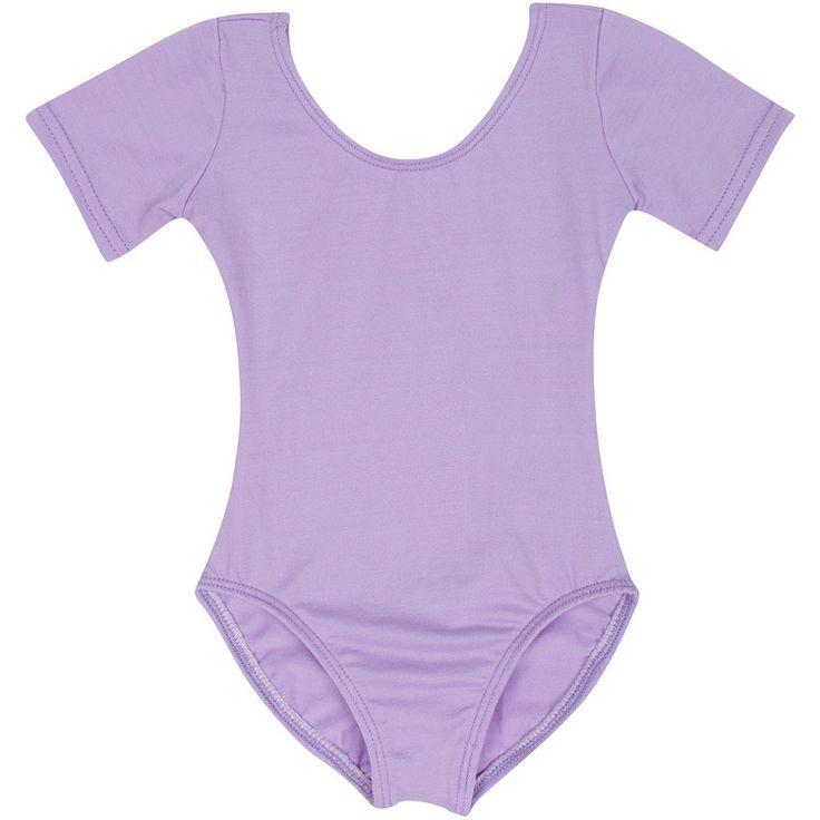 LILAC Short Sleeve Leotard for Toddler and Girls - Gymnastics / Ballet Dance –…
