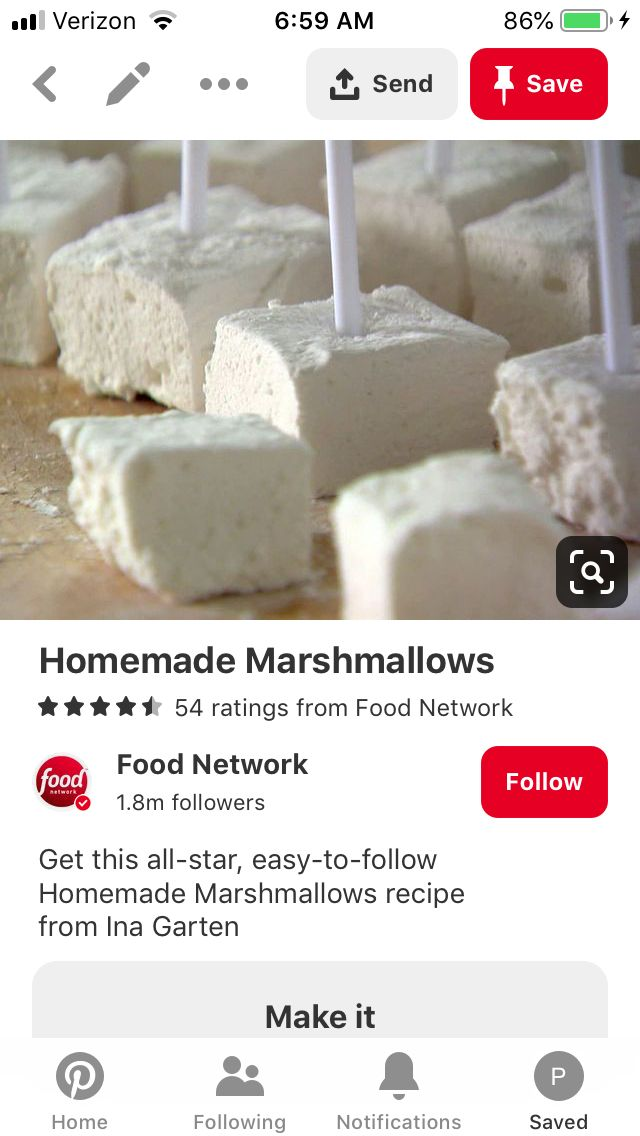 Ina Garten Marshmallows : garten, marshmallows, Homemade, Marshmallows, Garten, Recipes, Marshmallows,, Marshmallow, Recipe