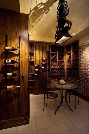 17 best images about gun and wine room on pinterest for Wine rooms in homes