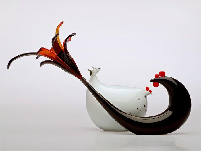 Gallo e Chioccia by Norberto Moretti