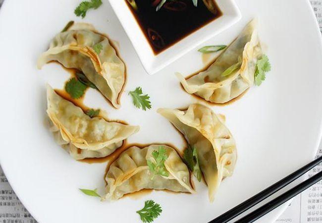 Prawn and Snow Pea Steamed Dumplings