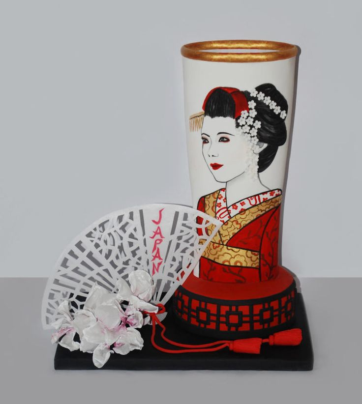 Lady Japan - Cake by Dolci Ritratti di Katia Malizia