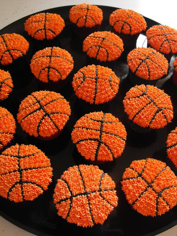 Basket Ball Cupcakes - Celebration Cupcakes