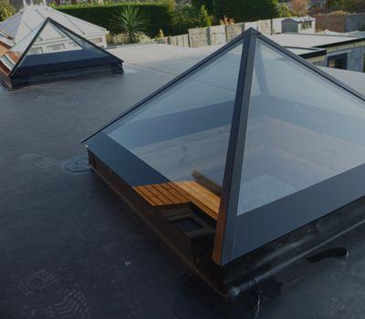 Pyramid rooflights
