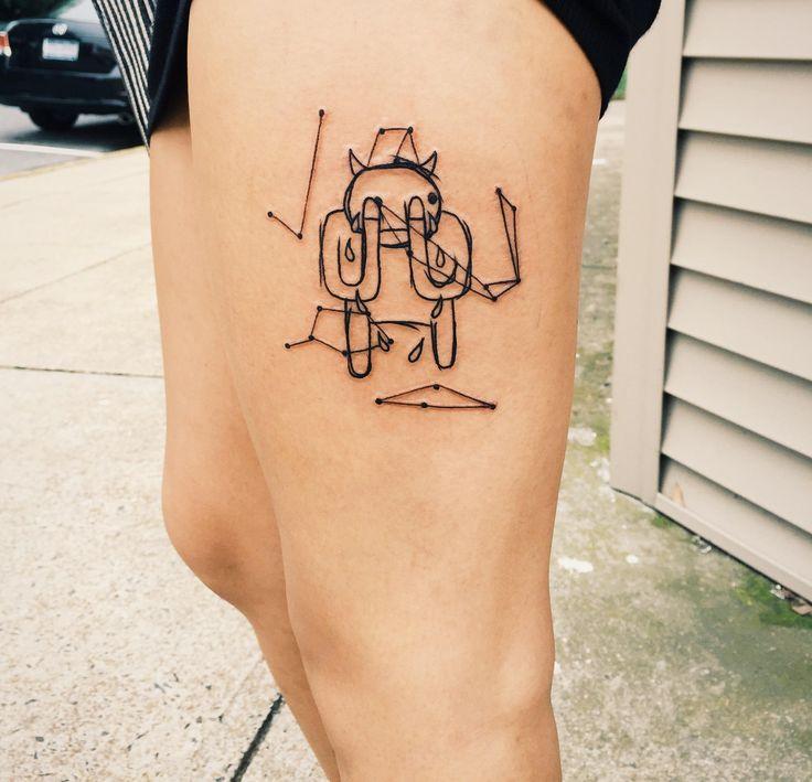 radiohead tattoos