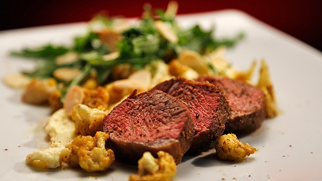 MKR4 Recipe - Spiced Lamb with Cauliflower Two Ways
