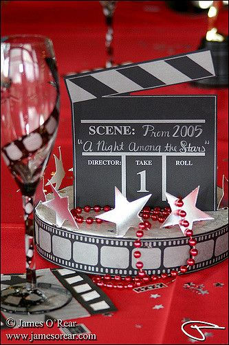 Prom decorations by James O'Rear ec0010 | Movie theme decora… | Flickr