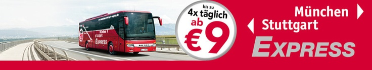 Munich/Stuttgart Bus Express - This bus connects Stuttgart with Munich, 4x a day for as little as 9€ each way.  Again, you'll see more and more bus companies now that Deutsche Bahn has lost its monopoly this year.