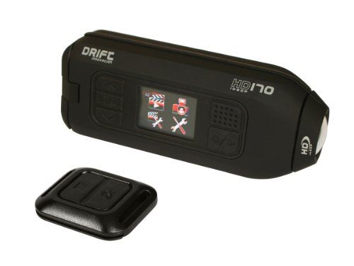 Nice Drift Innovation HD170 Stealth Action Camera with HD Recording, 4x Digital Zoom and 1.5-Inch LCD Screen (Black)