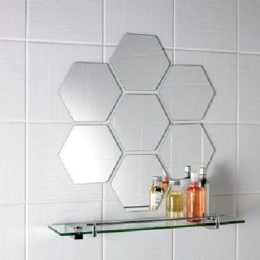 Sinoy 3mm de Hexagonale Tegel van de Spiegel van de Badkamers Zilveren met Dubbele Met een laag bedekte Verf Fenzi (KMIO-RMT2000) foto auf nl.Made-in-China.com
