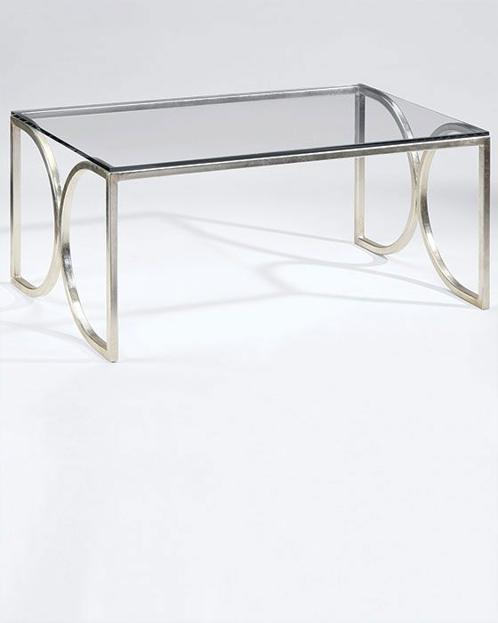 Madox Modern Classic Antique Gold Leaf Glass Coffee Table: 1000+ Ideas About Glass Top Coffee Table On Pinterest