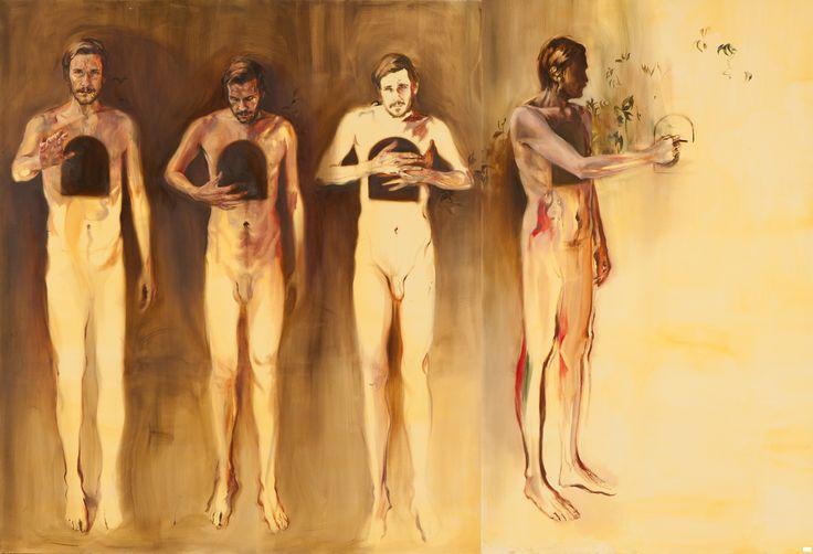 300cm x 200cm,  oil on canvas