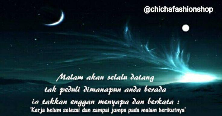 Selamat malam & selamat beristirahat buat semuanya..:)