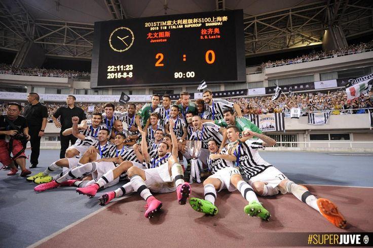 Rekor yang pecah di Piala Super - Juventus.com