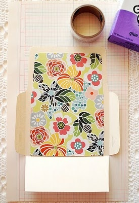 Make your own envelope tutorial