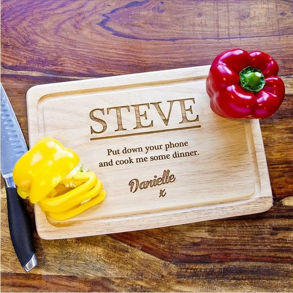 Unique Personalised Chopping Board