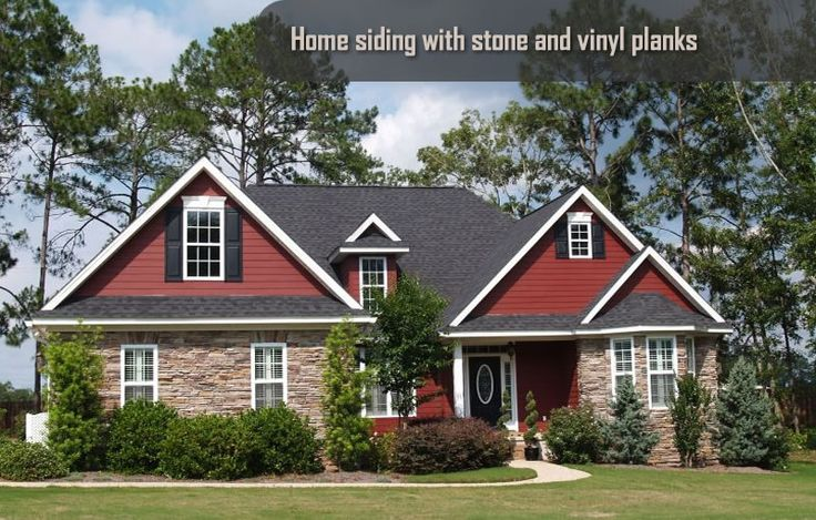 91 best images about homes on pinterest exterior colors for Vinyl siding that looks like brick