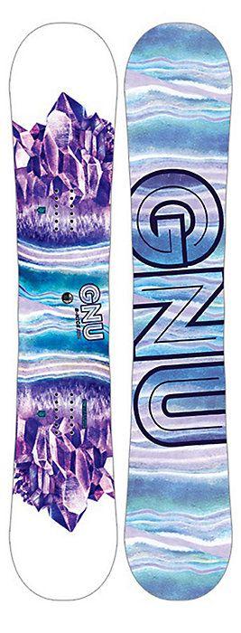 2017 Gnu B-Nice Assymetrical Snowboard - Women's - Christy Sports