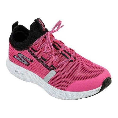 db46f59eedef7c Women's Skechers Go Run Horizon Running Shoe - Hot Pink/Black Performance  Shoes in 2019 | Products | Shoes, Running shoes, Black running shoes