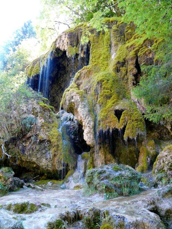 #Schleierfälle in den #Ammergauer #Alpen ** Natural wonder water falls, Bad Bayersoien, Ammergau Alps, #Bavaria