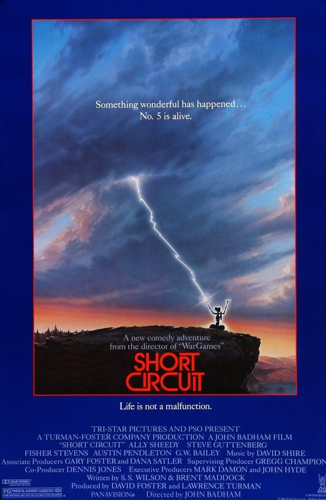Short Circuit (1986) Original One-Sheet Movie Poster