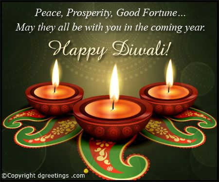 Send wonderful Diwali greeting cards, wishes, messages, quotes and images to your loved ones to make their festival more memorable.