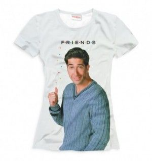 FRIENDS ROSS Damska Koszulka T-Shirt Full Print
