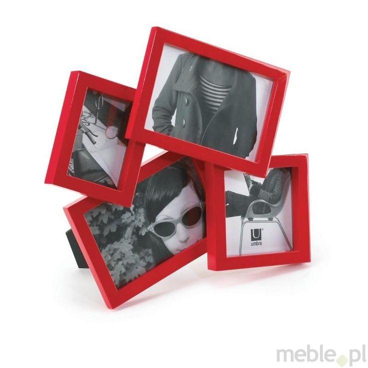 Umbra Mosh Red Czerwona Ramka na Zdjęcia - 316090-505