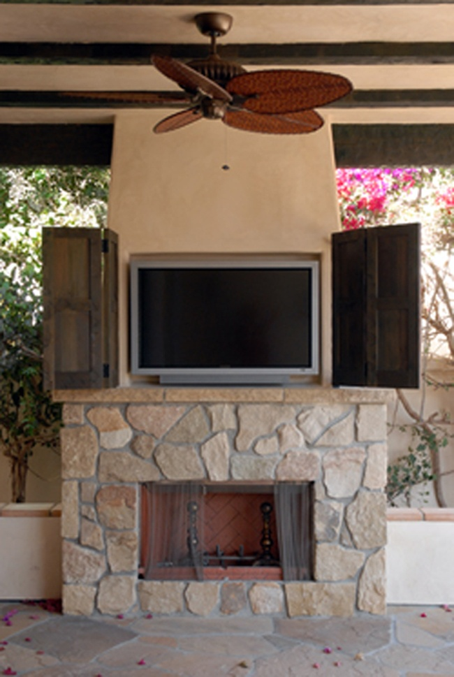 Outdoor Fireplace Krai Outdoor Living Pinterest