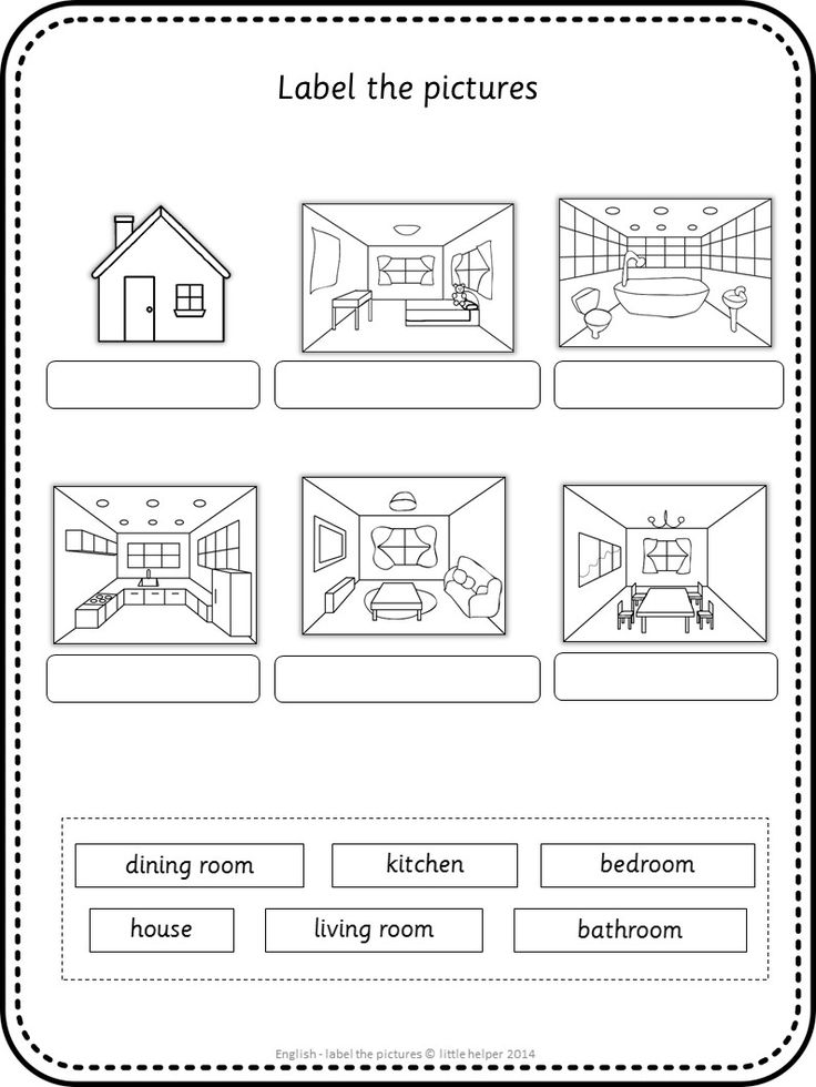 esl label the pictures teaching ingles para. Black Bedroom Furniture Sets. Home Design Ideas