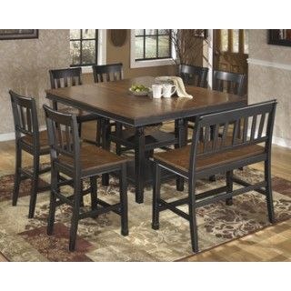 Get Your Owingsville   Square DRM Counter EXT Table At Furniture Land Ohio, Columbus  OH Furniture Store.