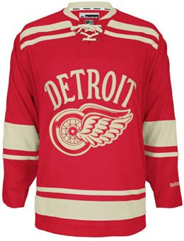 Detroit Red Wings 2014 NHL Winter Classic Hockey Jersey