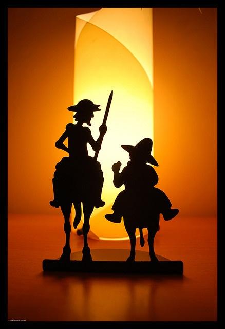 Don Quijote de la Mancha by Gas Larrosa, via Flickr