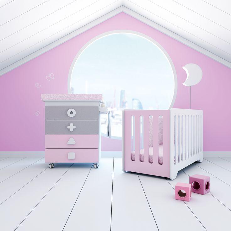 Bonito Bebé Muebles De Paquetes Cuna Bandera - Muebles Para Ideas de ...