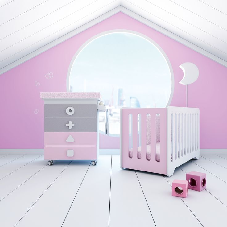 Mejores 21 imágenes de PINK KIDS ROOM en Pinterest | Habitaciones ...