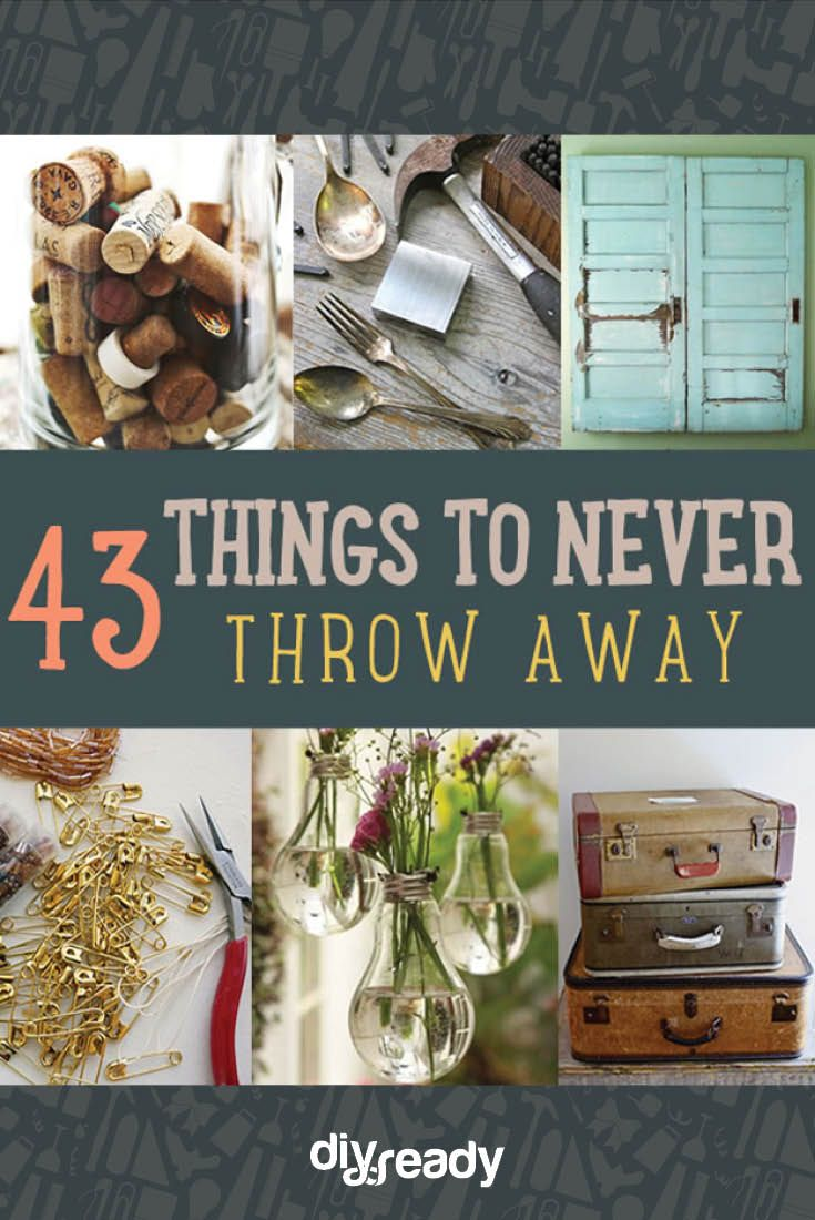 Some things you should never throw away